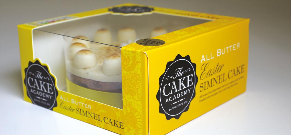 Комбинированная упаковка для торта