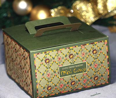 Коробка для торта винтаж