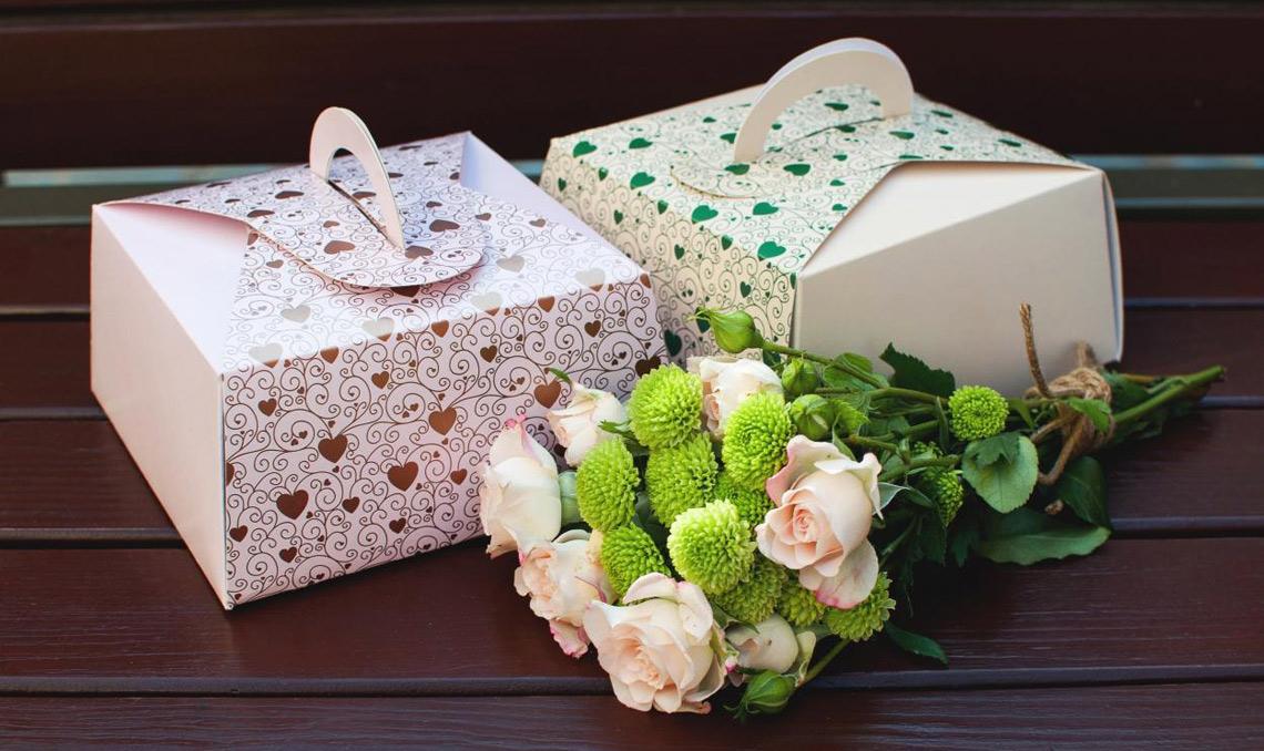 Коробки для торта картон