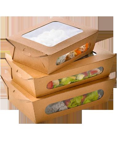 упаковка из гофрокартона для суши