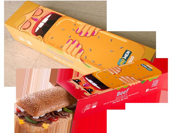упаковка для сэндвичей