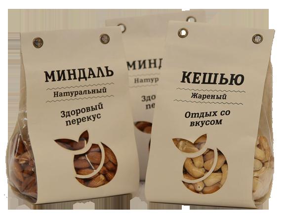 упаковка орехи