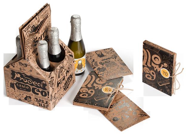 упаковка с шампанским