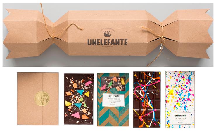 упаковки шоколада