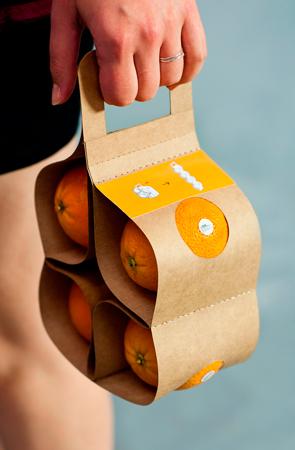 апельсины в промо-упаковке