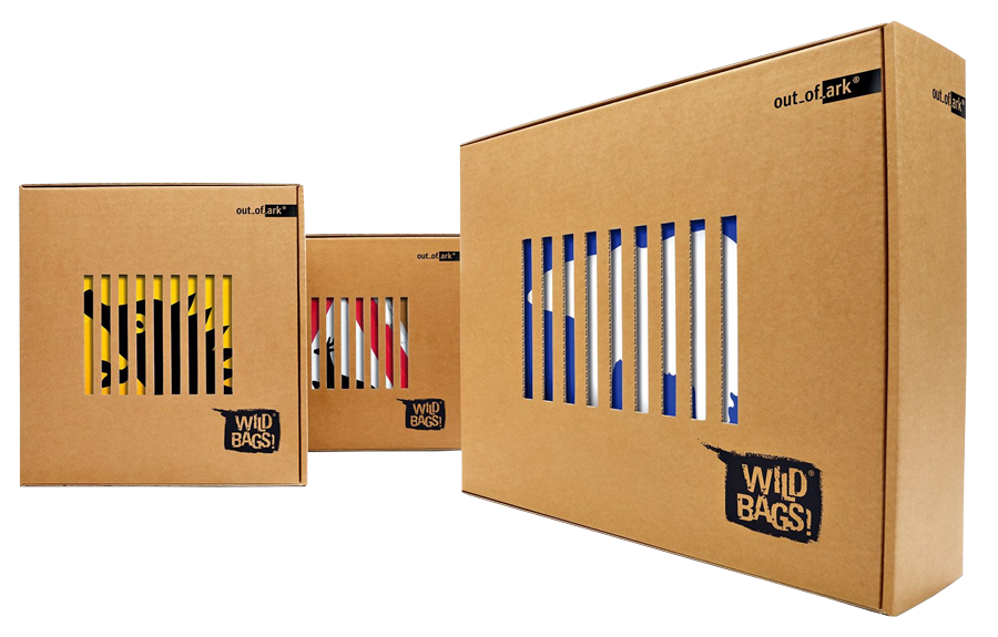 картонная упаковка wild bags