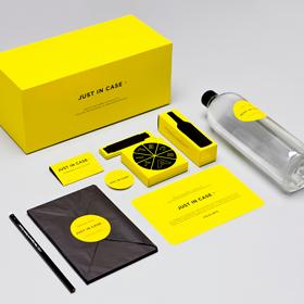 желтая промо-упаковка