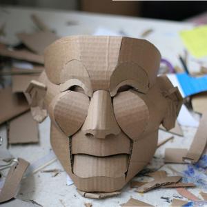 картонная маска