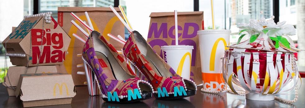 современная упаковка Макдоналдс