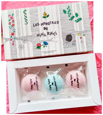 сладкие шарики в коробке