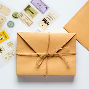 коричневый конверт