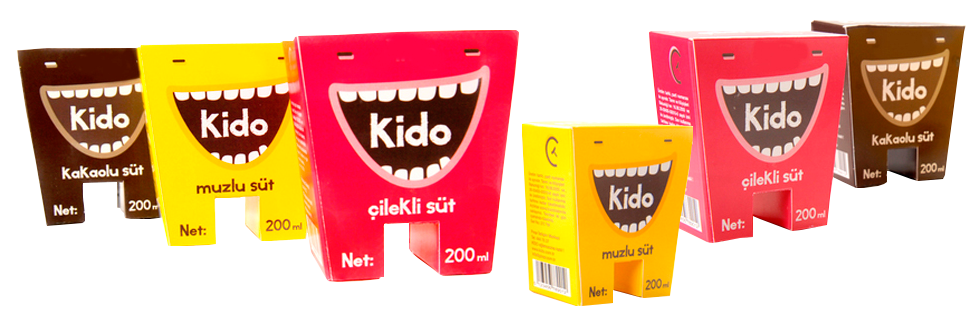 молоко Kido