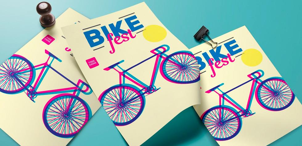 листовки велофестиваля