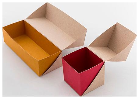 упаковки-шкатулки из картона